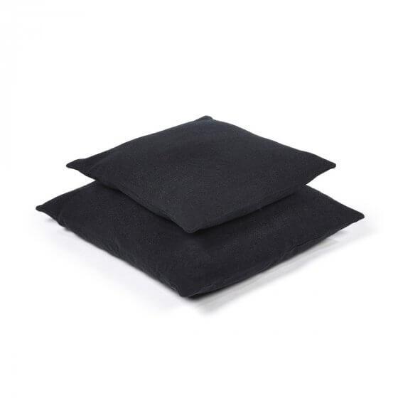 Cushion Cover - Hudson - Black - Lge-2