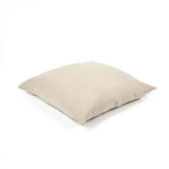 Cushion Cover - Hudson -Lge -  Flax-1