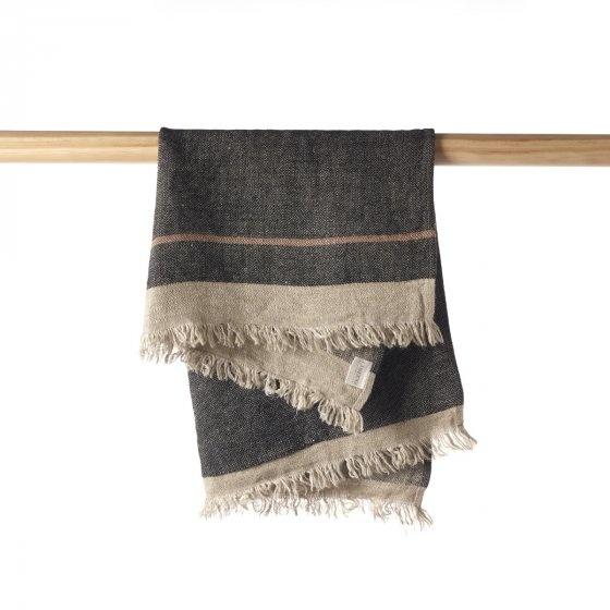 Guest Towel - Black Stripe-3