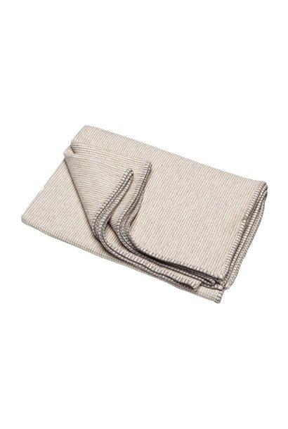 Cotton Throw - Lido - Ecru