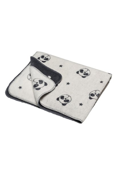 Blanket - Panda Panda - Off White