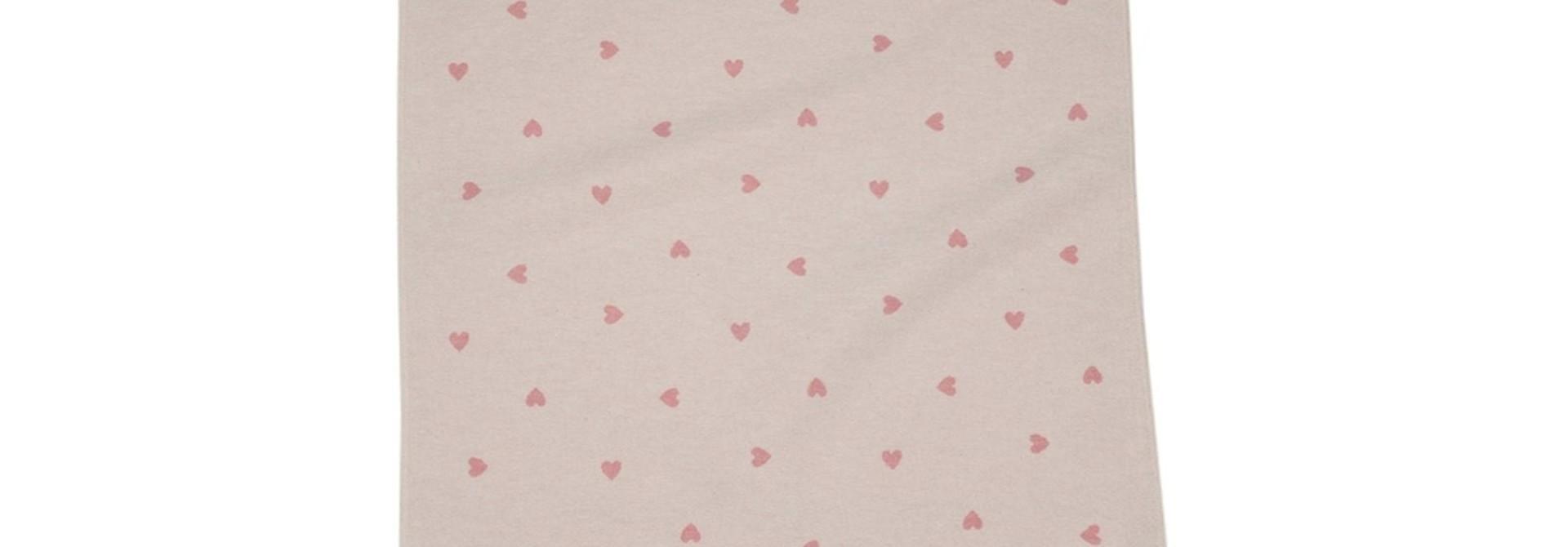Baby Blanket - Heart - Pink