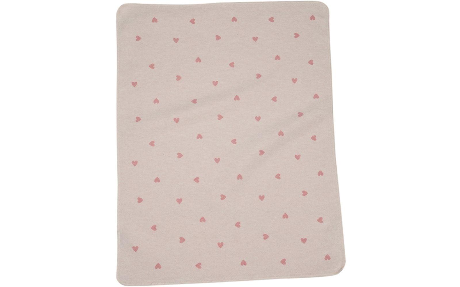 Baby Blanket - Heart - Pink-1