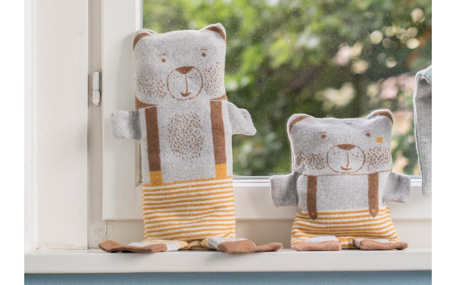 Blanket in Puppet - Bear-2