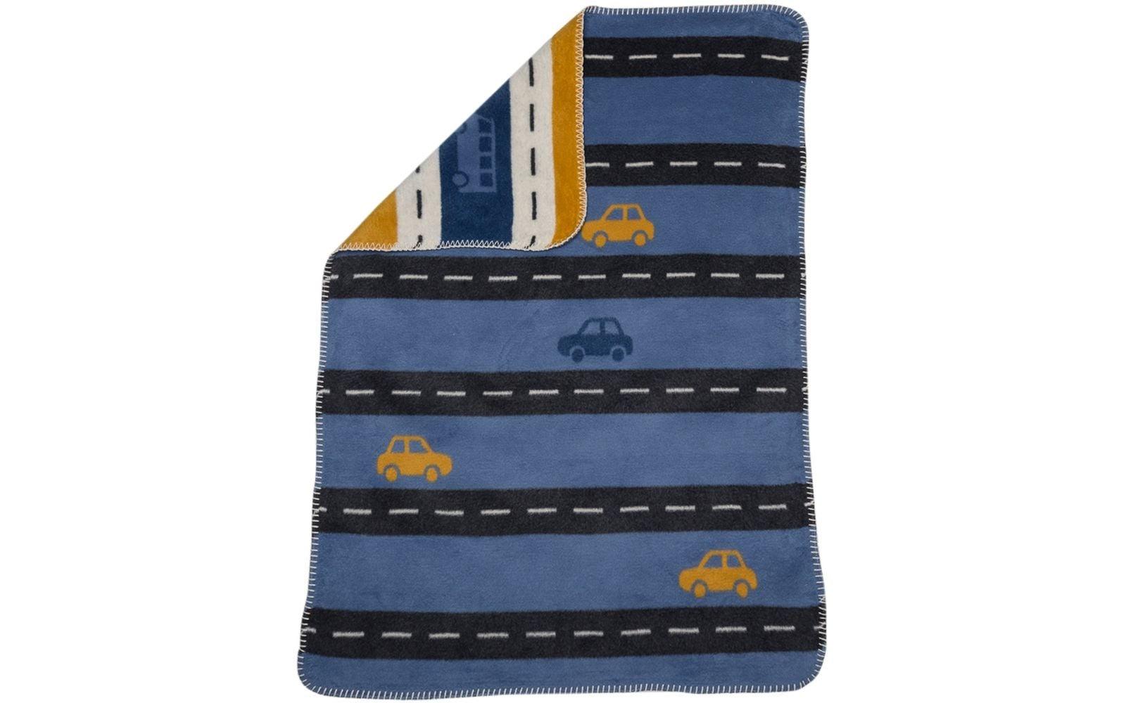 Blanket - Streets - Blue-1