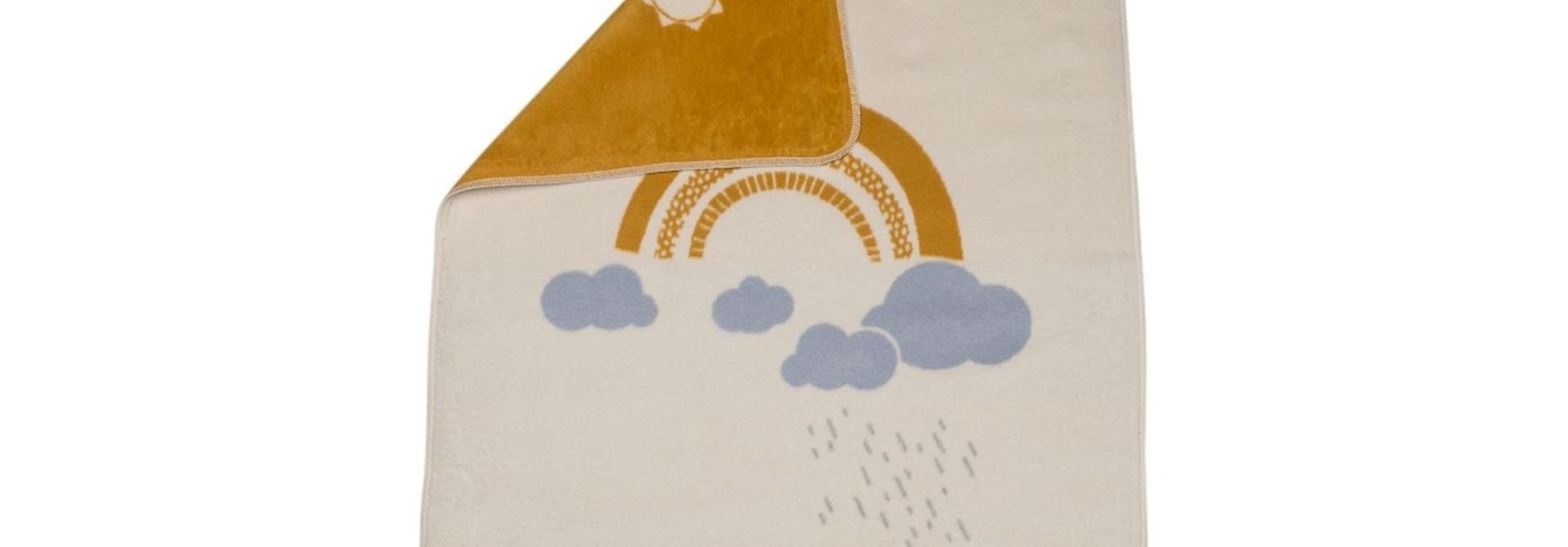 Blanket - Fleece - Clouds