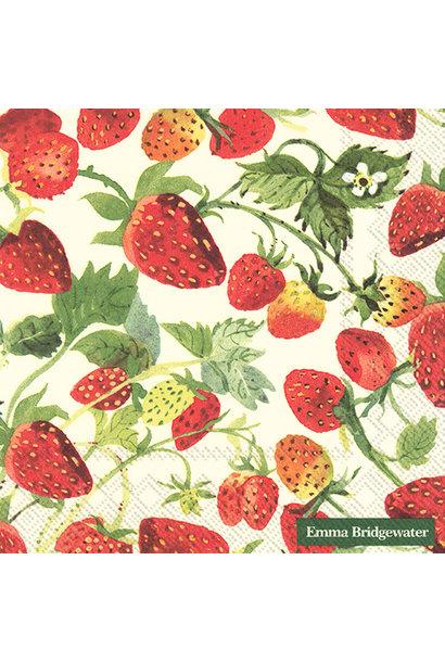 Tea Towel - Strawberries
