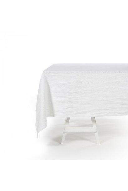 Tablecloth - Hudson -  Square - White