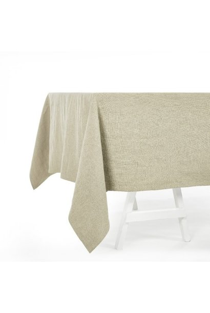 Tablecloth - Hudson -  Square - Flax