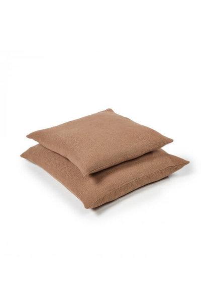 Cushion Cover - Hudson - Lge - Cinnamon