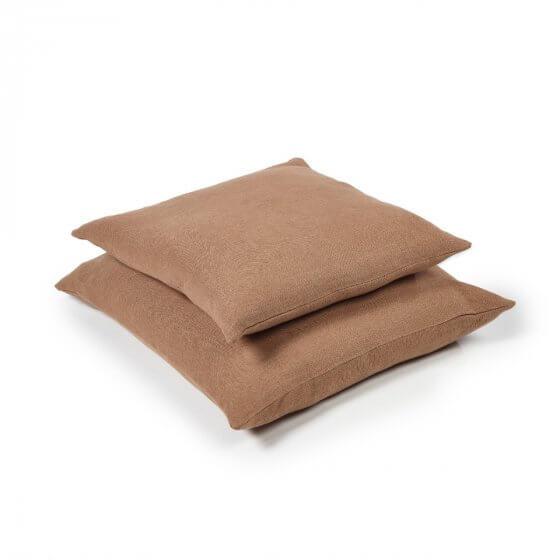 Cushion Cover - Hudson - Lge - Cinnamon-1