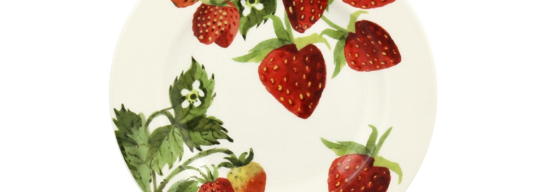 Plate - Strawberries