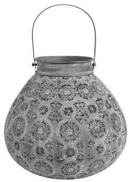 Lantern - Round  - Pale Grey-1