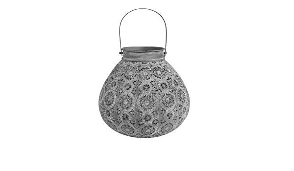 Lantern - Round  - Pale Grey-2
