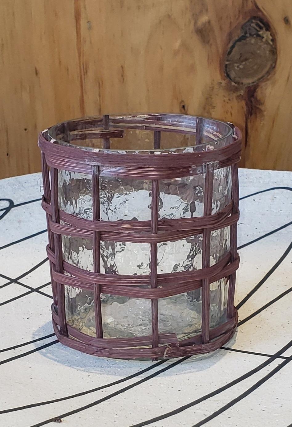 Lantern - Bamboo - Brown-1
