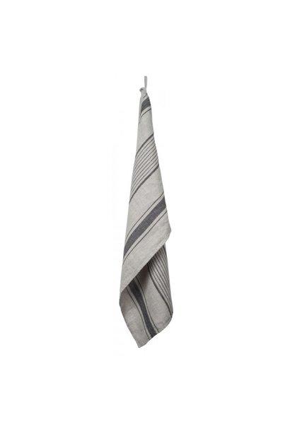 Tea-Towel - Augagne - Nat/Grey