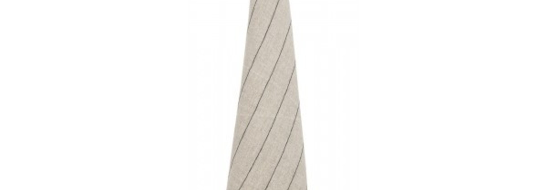 Tea-Towel - Calvi - Natural w/stripe