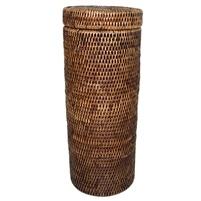 Tall Toilet Paper Holder w/lid-1