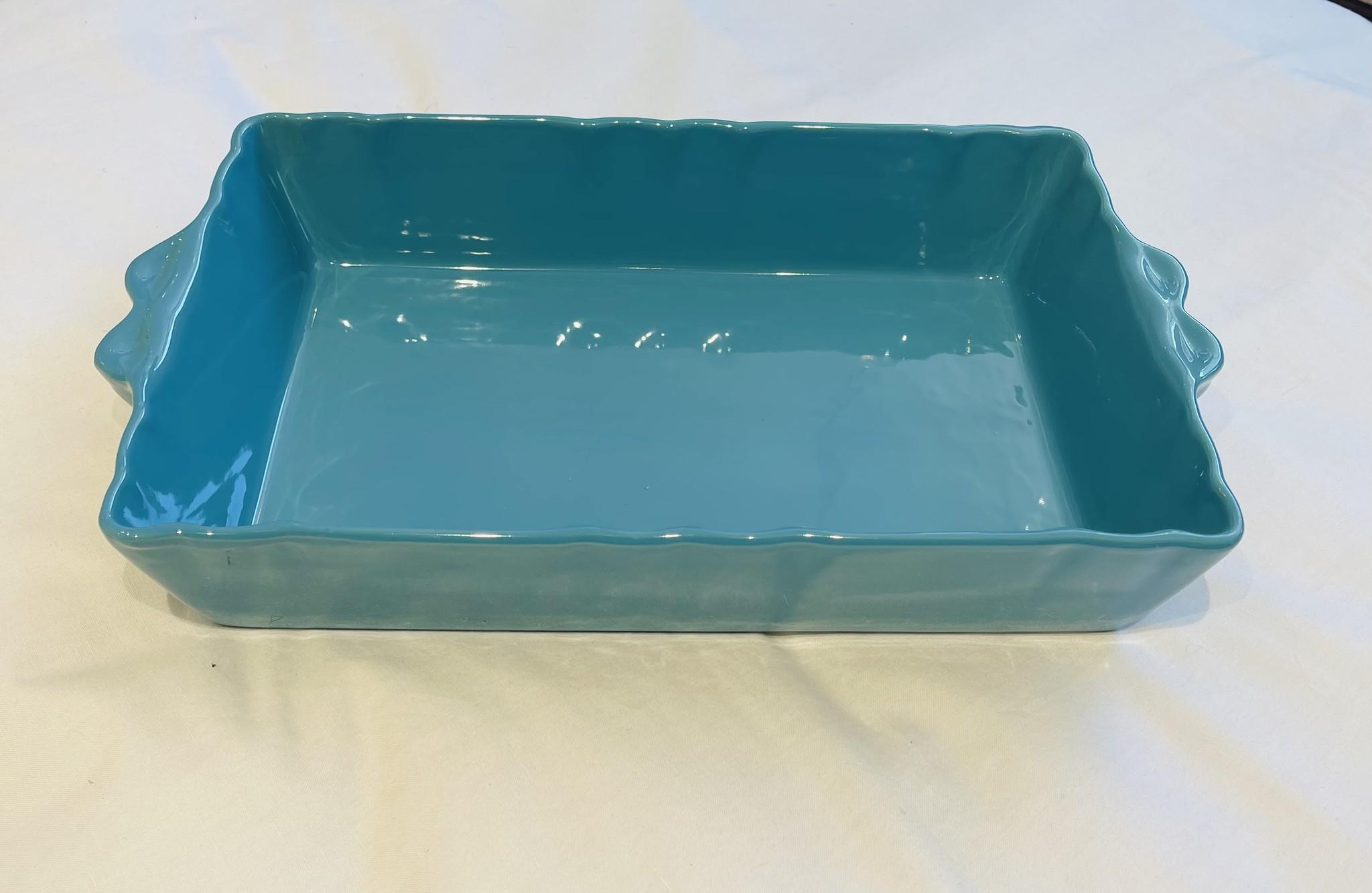 Feston Oven Dish - Turquoise-1