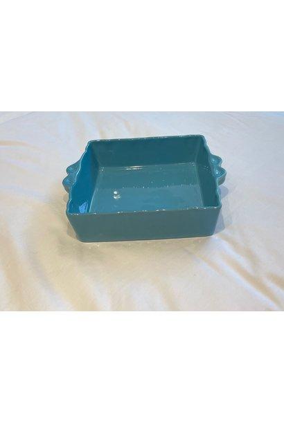Feston Oven Dish - Square - Turquoise