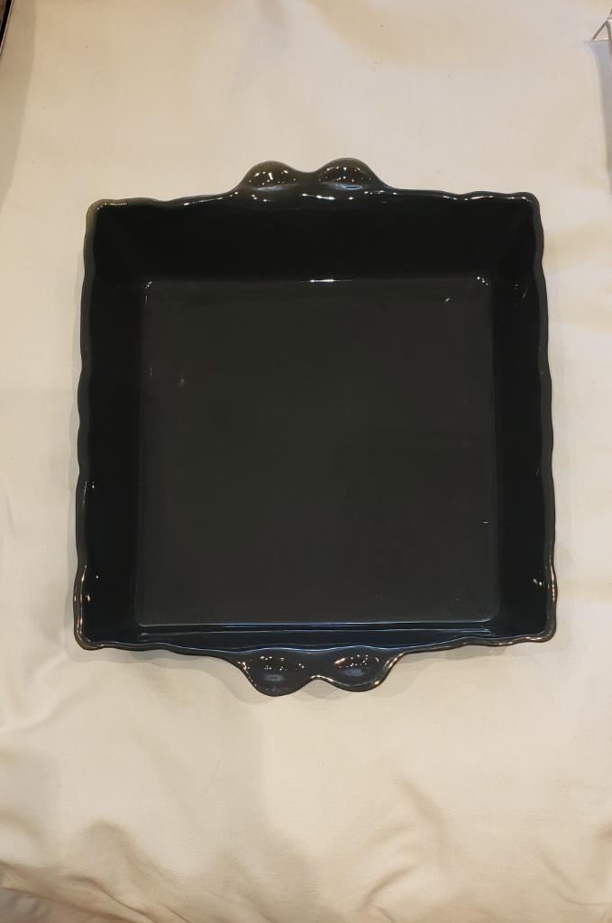 Feston Oven Dish - Sq. Dk Grey-1