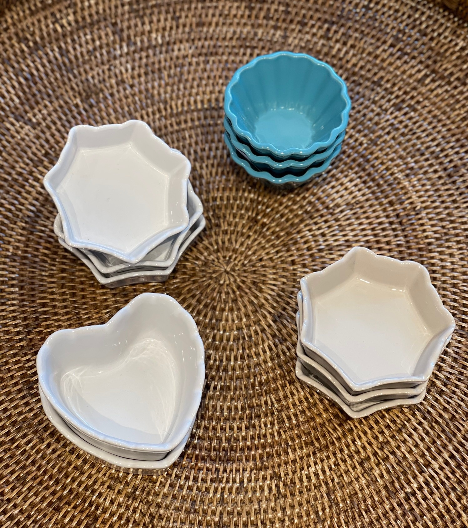Flan Dish - Sm - Turquoise-1