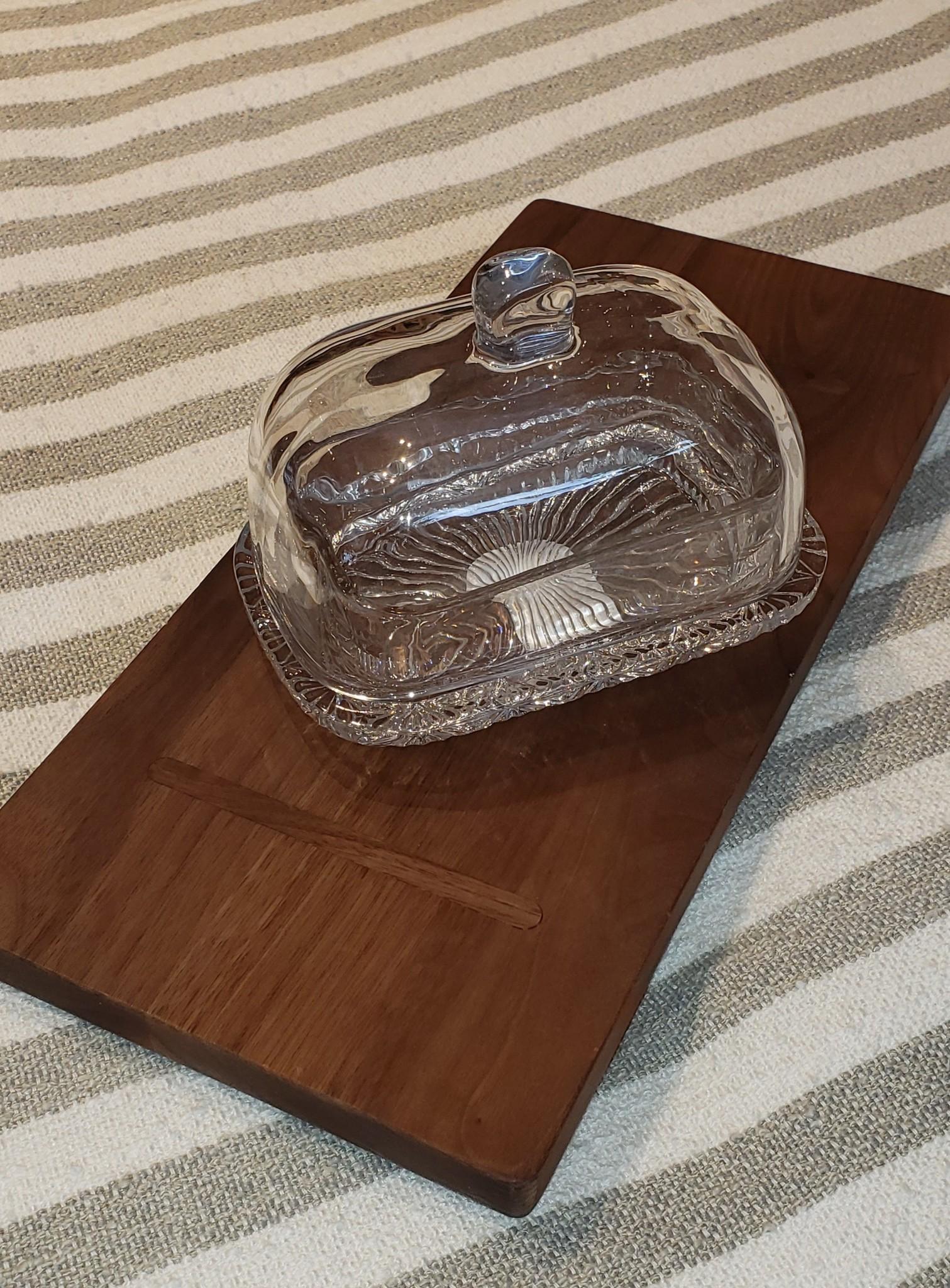 Butterdish - Glass-1
