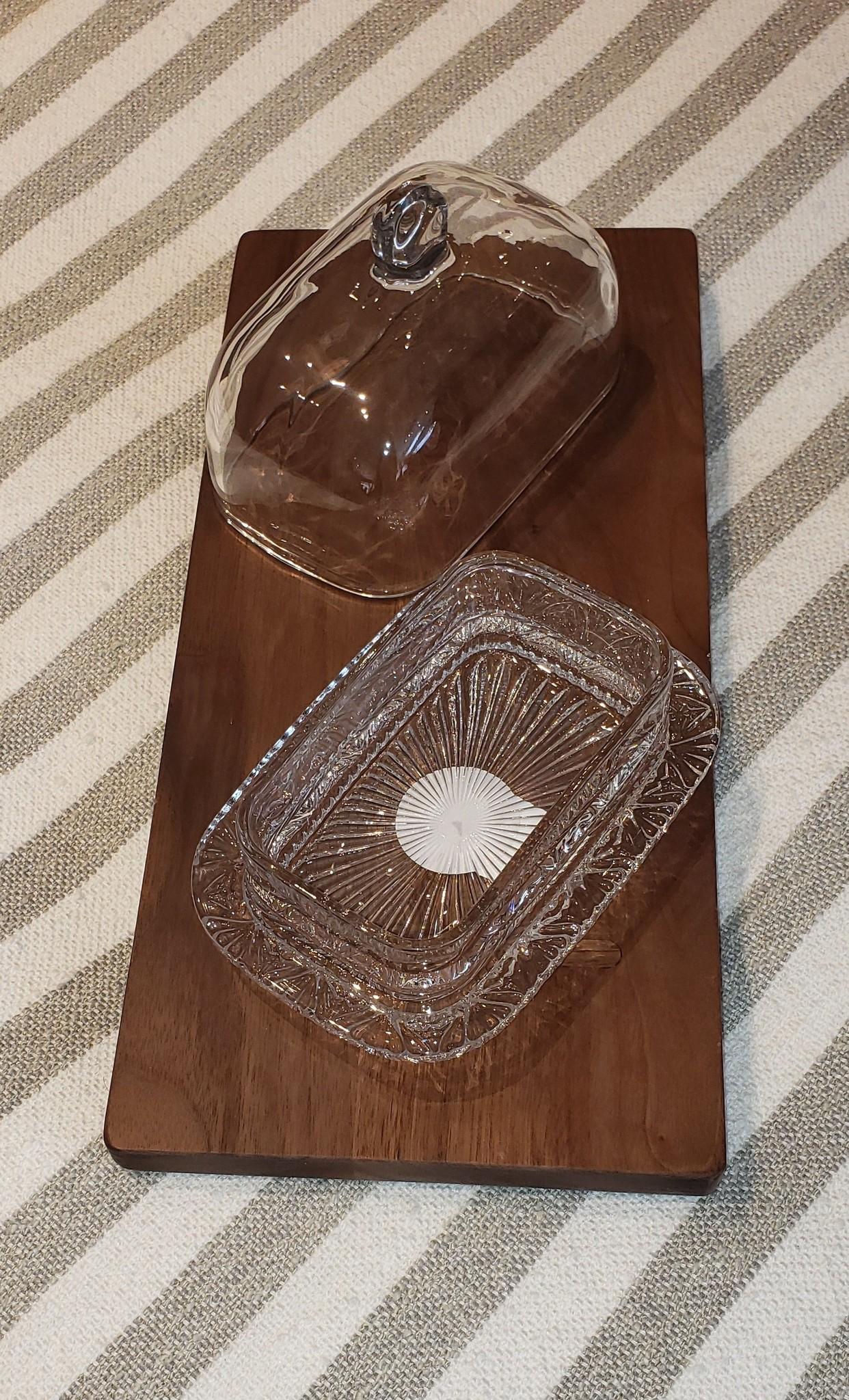 Butterdish - Glass-2