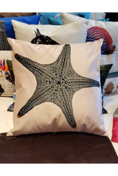 Outdoor Cushion - Starfish -Pink