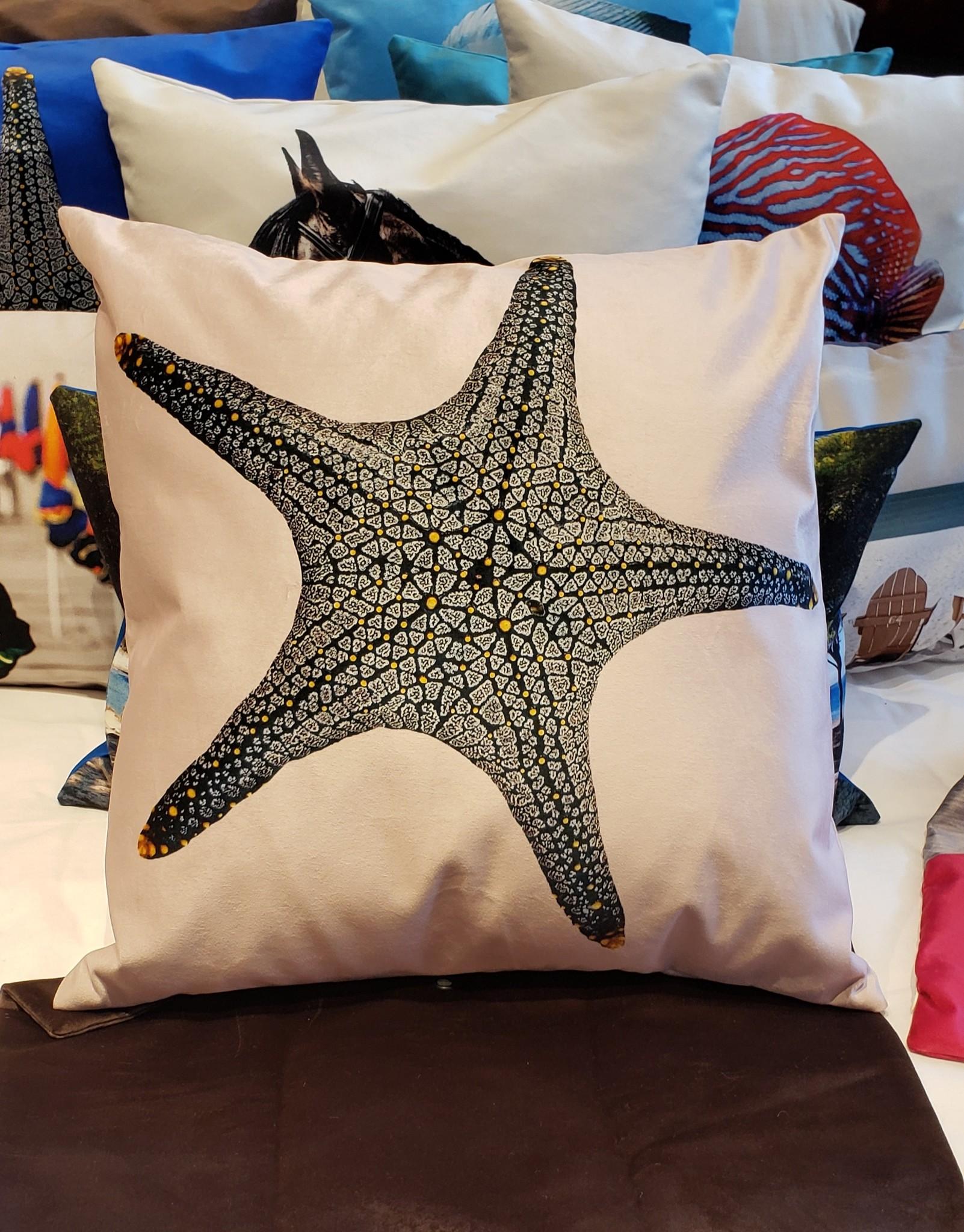 Outdoor Cushion - Starfish -Pink-1