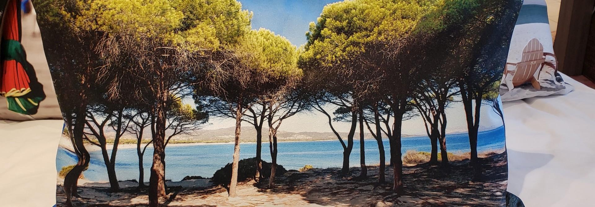 Outdoor Cushion - Lumbar - Pines
