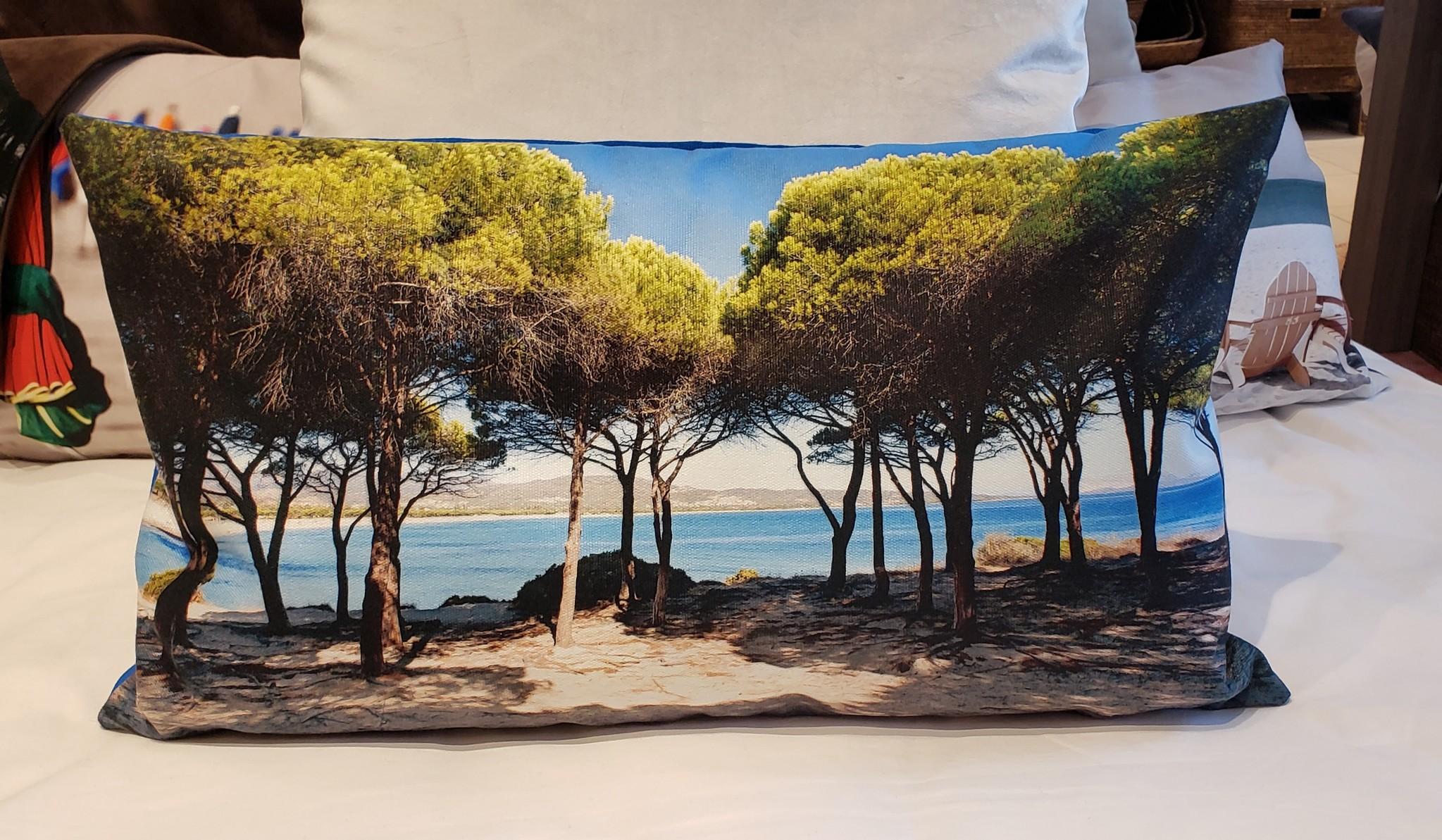 Outdoor Cushion - Lumbar - Pines-1