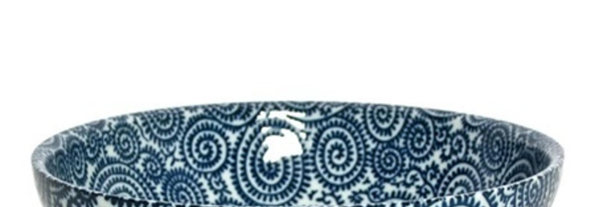 Bowl - Blue Vines