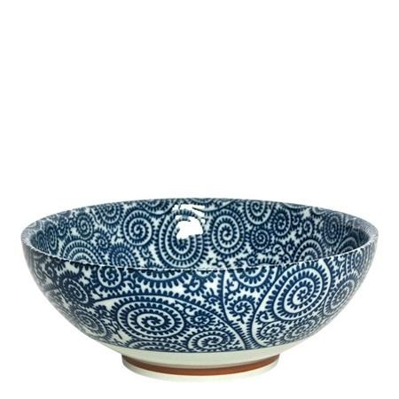Bowl - Blue Vines-1