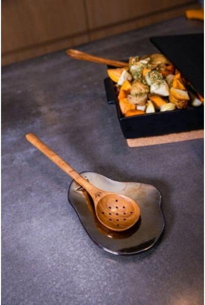 Starter Platter/Spoon Rest - Patinum Matte
