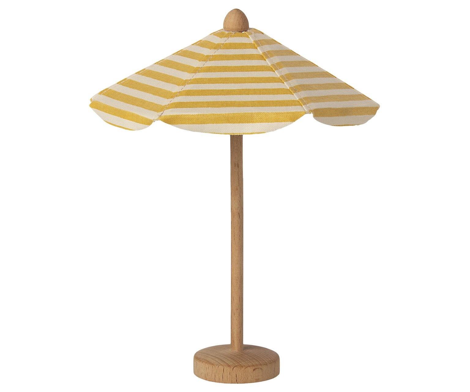 Maileg Wood Beach Umbrella-1