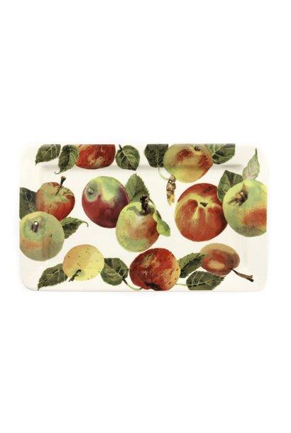Oblong Plate - Medium - Apples