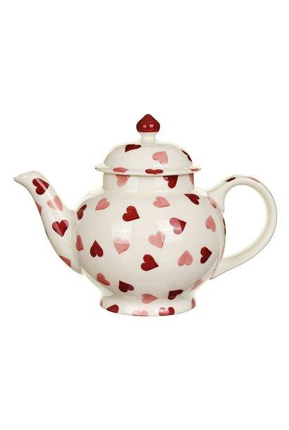 Teapot - 4 Mug - Hearts