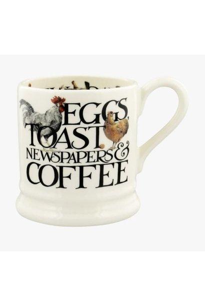 Mug - Eggs & Toast - 1/2 Pint