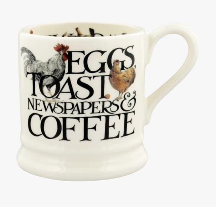 Mug - Eggs & Toast - 1/2 Pint-1