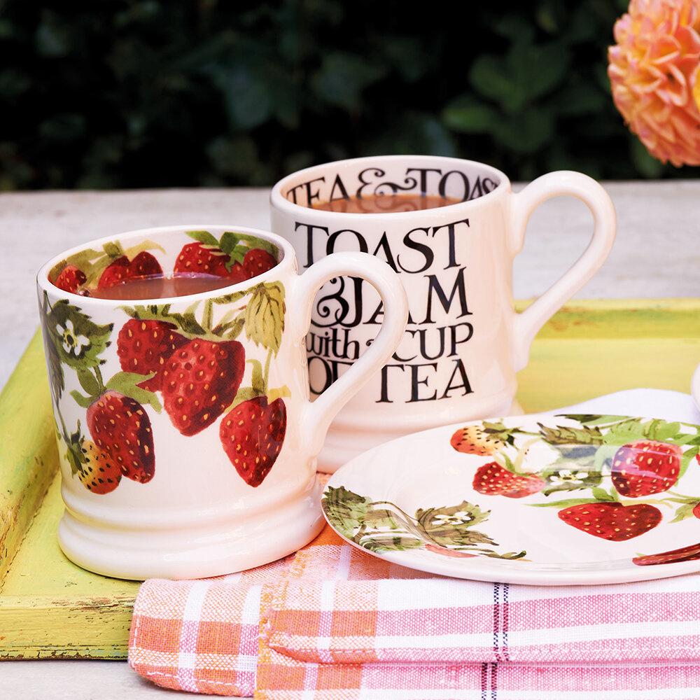 Mug - Strawberries - 1/2 Pint-2
