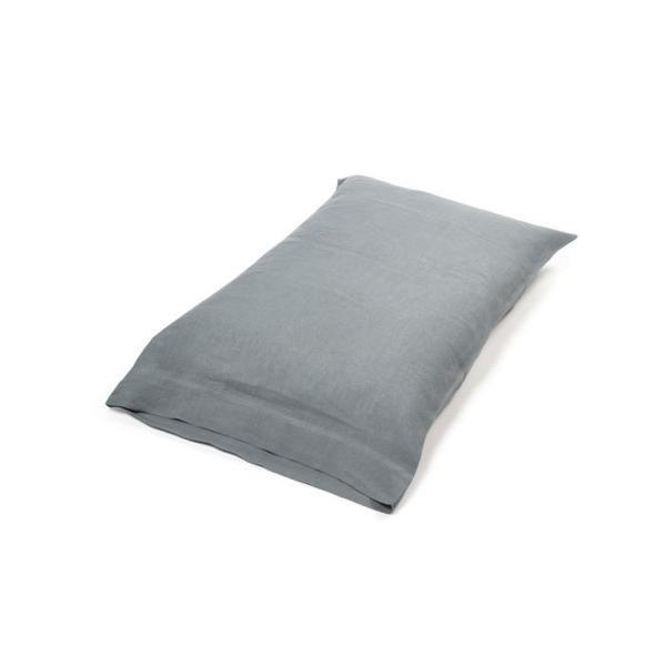 Pillowcase - Santiago -Steel - King-1