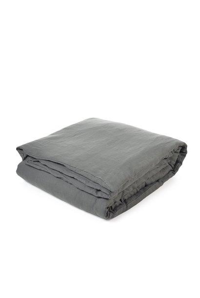 Duvet Cover + Fitted Sheet - Santiago  - Dk Grey  - King