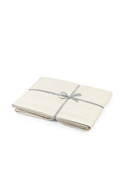 Flat Sheet/2 pillowshams - Santiago - Oyster - King