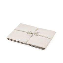 Flat Sheet - Santiago - Light Grey -  Queen-1