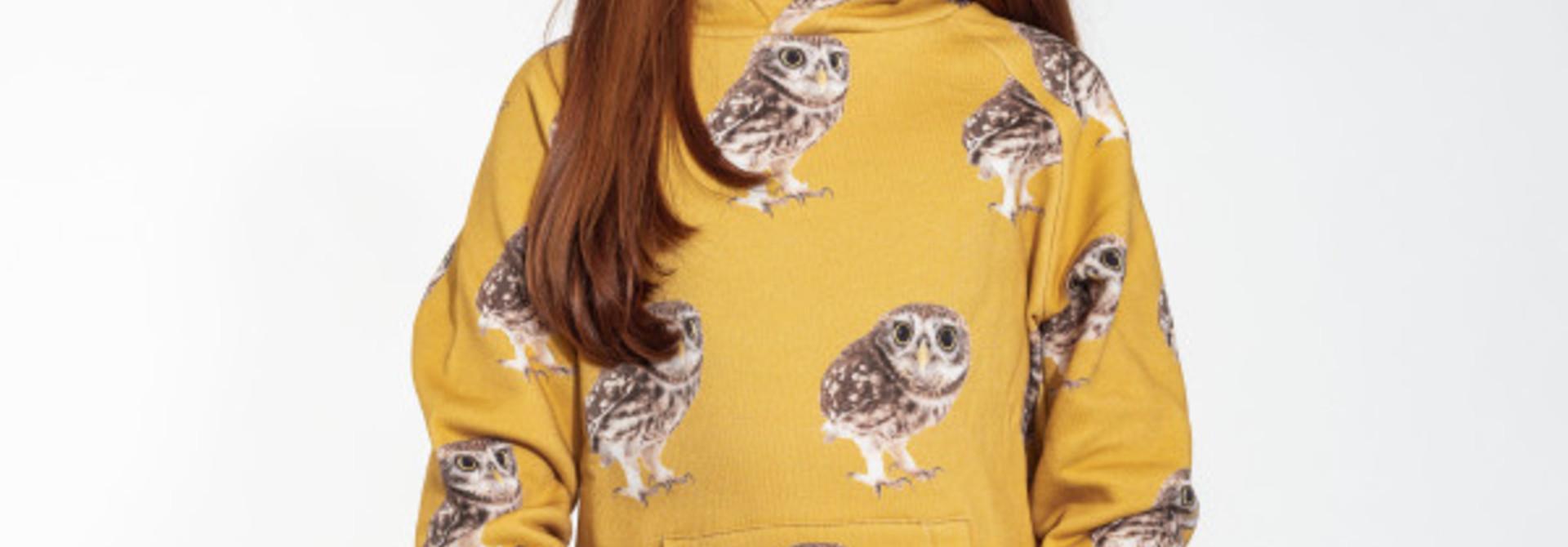 Hoodie - Owl - Sz. 13/14