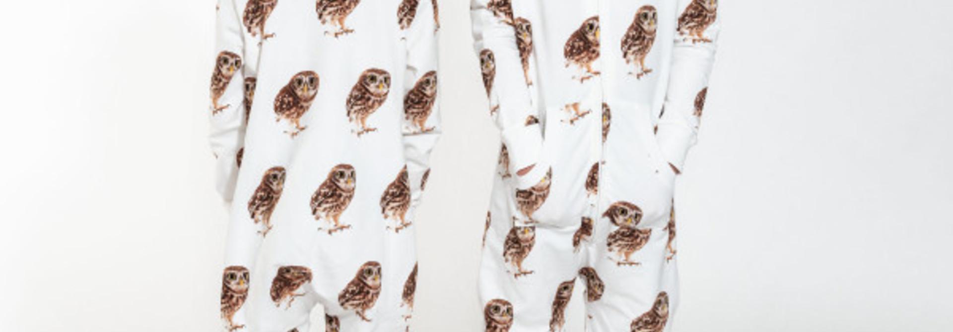 Onesie - Owl - Sz 11/12