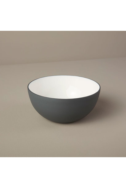 Aluminum & Enamel Bowl, Small