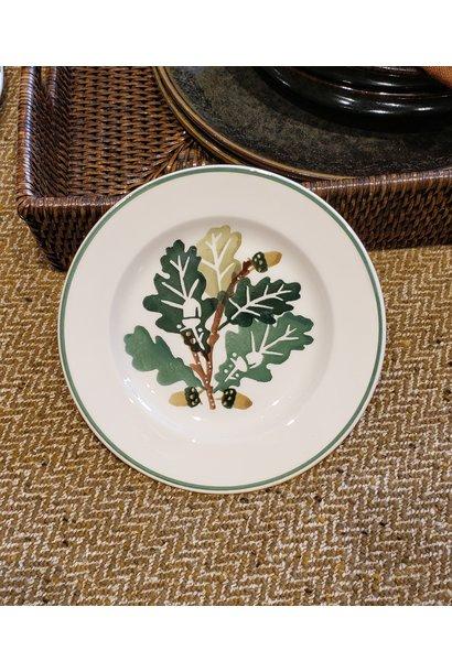 """Plate - Oak - 6.5"""""""