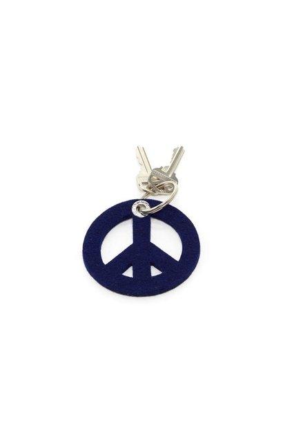 Key Fob - Peace - Marine